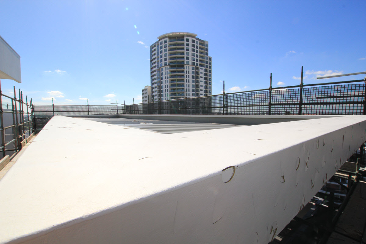 High Rise Roof Repairs Command Building Services